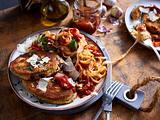 Vegetarisches Auberginen-Schnitzel Rezept