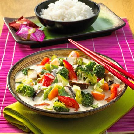 Vegetarisches Thai Curry Rezept Lecker