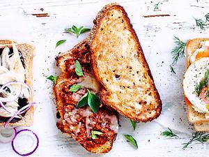 Veggie-Bolo-Sandwich Rezept