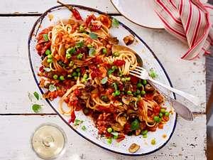"""Veggie-Bolognese """"alla siciliana"""" Rezept"""