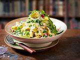 Veggie-Pasta mit Schlauberger-Topping Rezept
