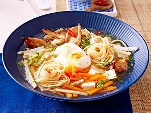 Veggi-Ramen mit Tofu Rezept
