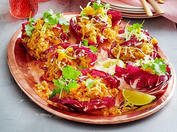 Veggiebolo-Salatwraps Rezept