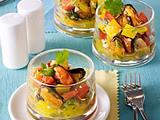 Verrines aux poivrons et gingembre Rezept