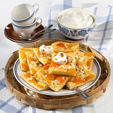 Versunkener Aprikosenkuchen mit Kartoffeln (Diabetiker) Rezept