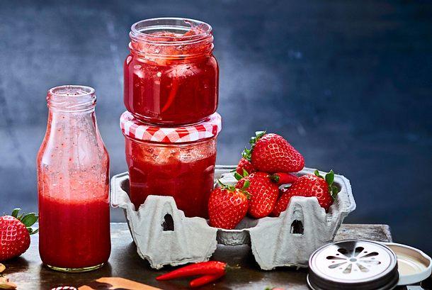 """Very Berry""-Soße mit Orangenlikör Rezept"