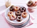 Verzierte Donuts Rezept