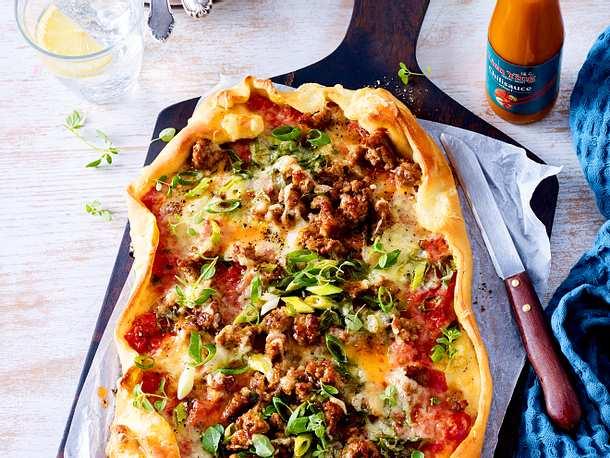 Viel schöner als Döner: Türkische Hack-Pizza Rezept