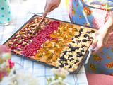 Vierländer Obstkuchen vom Blech Rezept