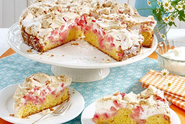 Vierländer Küchenwelt vierländer rhabarber baiserkuchen rezept lecker