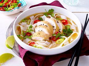 Vietnamesischer Hühner-Nudelsuppe Rezept