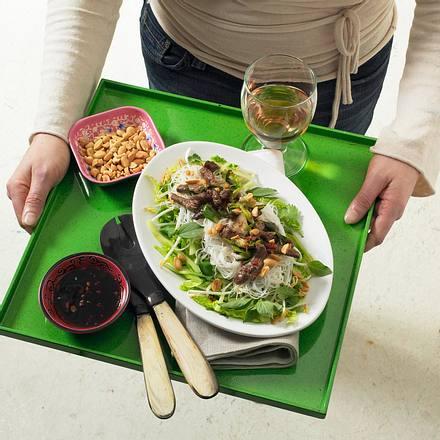 Vietnamesische Reisnudeln Rezept