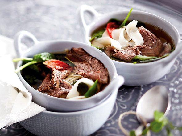 Vietnamesische Tafelspitzsuppe Rezept