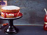 Viktoria-Sponge-Cake Rezept
