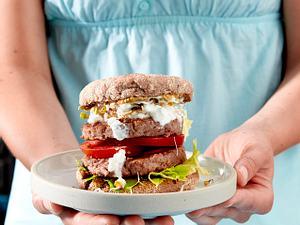 Vital-Burger Rezept