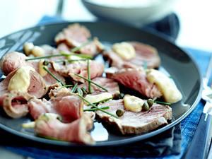 Vitello schweinato mit Thunfisch-Mayo Rezept