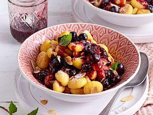 Voll süße Gnocchi mit Heidelbeeren Rezept