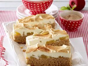 Vollkornkuchen mit Apfelkompott Rezept