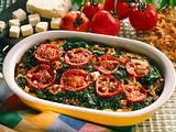 Vollkornnudel-Spinat-Auflauf Rezept