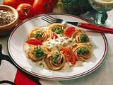 Vollkornspaghetti mit Käsesoße Rezept