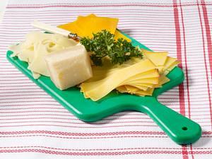 vorher/nachher Käseplatte Rezept