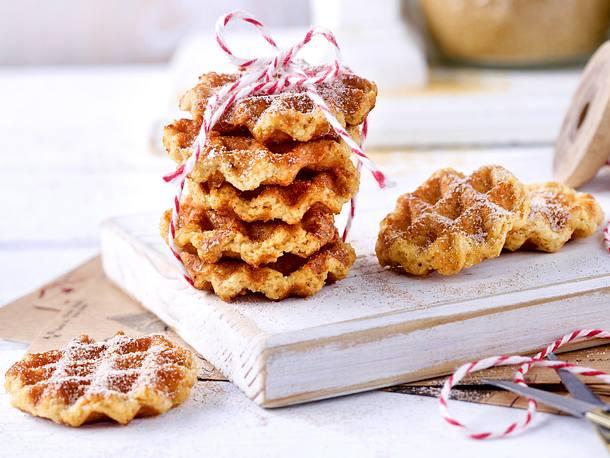 Waffelcookies Rezept