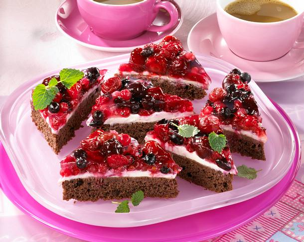 Waldbeerchen-Kuchen Rezept