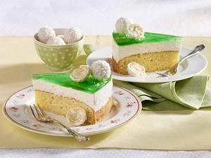 Waldmeister-Kokos-Torte Rezept
