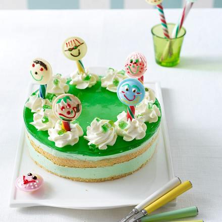 Waldmeister Torte Mit Brause Lollies Kinder Geburtstagstorte