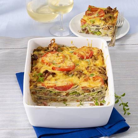 Waldpilz-Lasagne Rezept