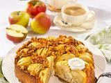 Walnuss-Apfel-Kuchen mit Calvados-Guss Rezept