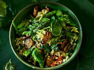 Warmer Quinoa-Spargel-Salat Rezept