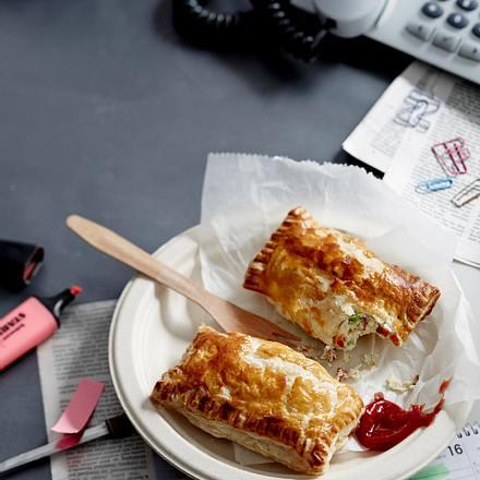 Washington-Hero-Taschen gefüllt mit Käse und Schinken Rezept