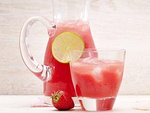 Wassermelonen-Erdbeer-Limonade Rezept