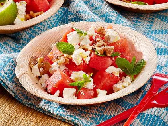Wassermelonen-Feta-Salat Rezept