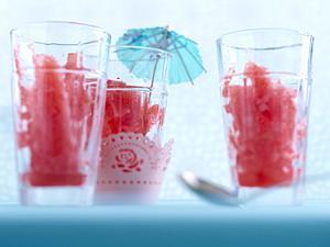 Wassermelonen-Limetten-Granita mit Ingwer Rezept
