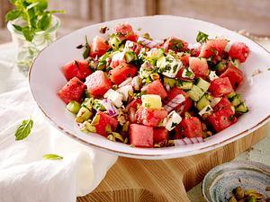Wassermelonen-Salat Rezept
