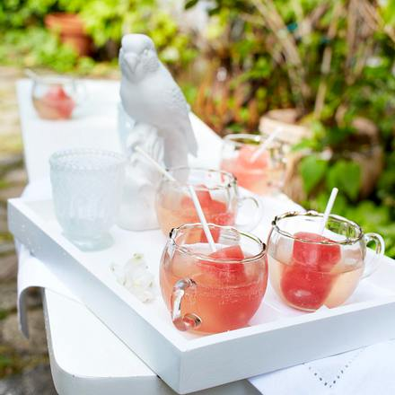 Wassermelonenbowle Rezept