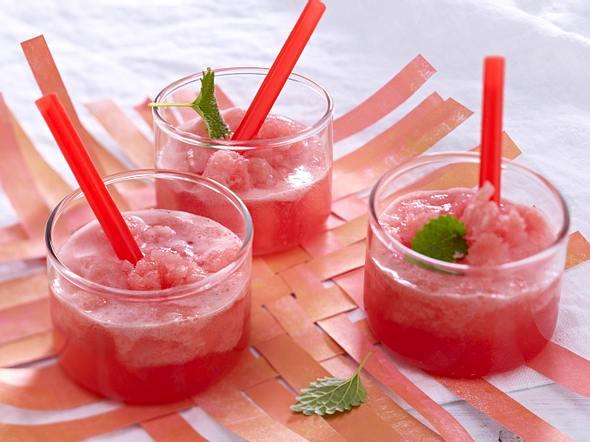 Wassermelonensorbet mit Prosecco Rezept