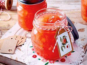Weißer-Pfirsich-Konfitüre Rezept