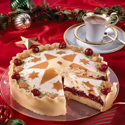 Weihnachtliche Kuppeltorte Rezept