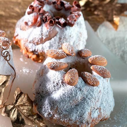 Weihnachtliche Mini-Napfkuchen Rezept