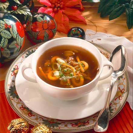 Weihnachtliche Pilzsuppe Rezept