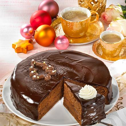 weihnachtliche sachertorte rezept chefkoch rezepte auf. Black Bedroom Furniture Sets. Home Design Ideas