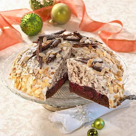 Weihnachtliche Schoko-Mascarpone-Kuppel-Torte Rezept