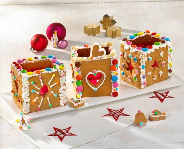 Weihnachtliche Tischlaterne Rezept