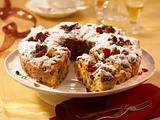 Weihnachtlicher Kranzkuchen Rezept