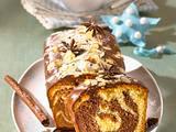 Weihnachtlicher Marmorkuchen Rezept