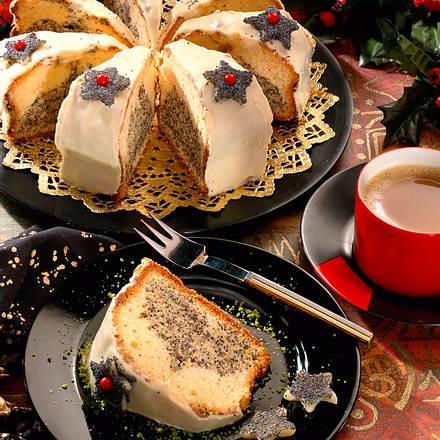 Weihnachtlicher Mohnkuchen Rezept
