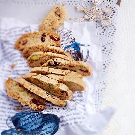 Weihnachts-Cantuccini Rezept